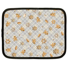 Gingerbread Light Netbook Case (large)