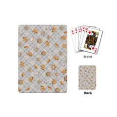 Gingerbread Light Playing Cards (mini)