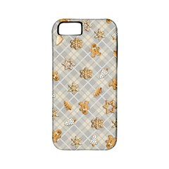 Gingerbread Light Apple Iphone 5 Classic Hardshell Case (pc+silicone)