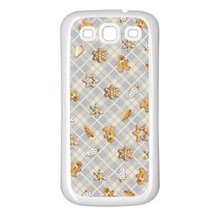 Gingerbread Light Samsung Galaxy S3 Back Case (white)