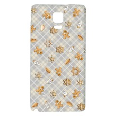 Gingerbread Light Galaxy Note 4 Back Case