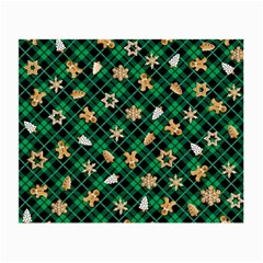 Gingerbread Green Small Glasses Cloth (2 Side)