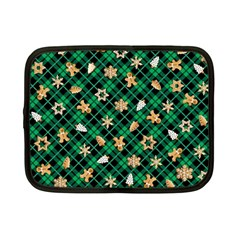 Gingerbread Green Netbook Case (small)