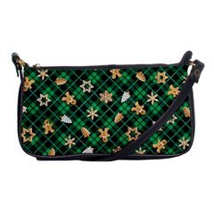 Gingerbread Green Shoulder Clutch Bags