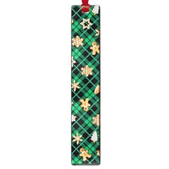 Gingerbread Green Large Book Marks