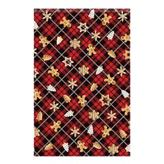 Gingerbread Red Shower Curtain 48  X 72  (small)