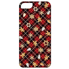 Gingerbread Red Apple Iphone 5 Classic Hardshell Case