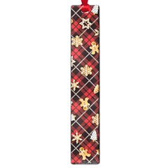 Gingerbread Red Large Book Marks