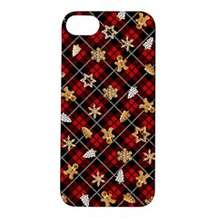 Gingerbread Red Apple Iphone 5s/ Se Hardshell Case