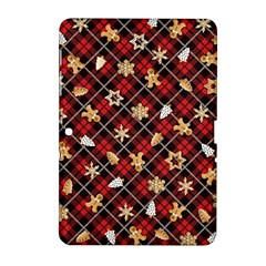 Gingerbread Red Samsung Galaxy Tab 2 (10 1 ) P5100 Hardshell Case