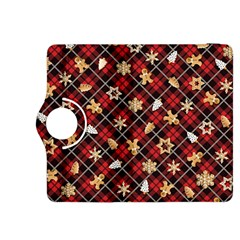 Gingerbread Red Kindle Fire Hdx 8 9  Flip 360 Case