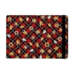 Gingerbread Red Ipad Mini 2 Flip Cases
