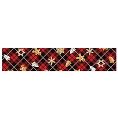 Gingerbread Red Small Flano Scarf