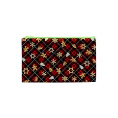 Gingerbread Red Cosmetic Bag (xs)