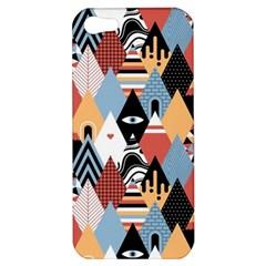 Abstract Diamond Pattern Apple Iphone 5 Hardshell Case