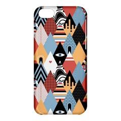 Abstract Diamond Pattern Apple Iphone 5c Hardshell Case