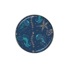Arabesque Vintage Graphic Nature Hat Clip Ball Marker (4 Pack)