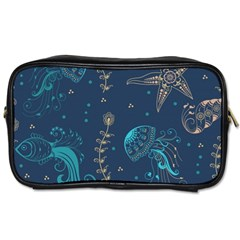 Arabesque Vintage Graphic Nature Toiletries Bags 2 Side