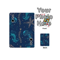 Arabesque Vintage Graphic Nature Playing Cards 54 (mini)