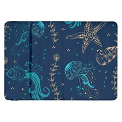 Arabesque Vintage Graphic Nature Samsung Galaxy Tab 8 9  P7300 Flip Case