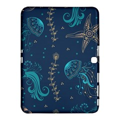 Arabesque Vintage Graphic Nature Samsung Galaxy Tab 4 (10 1 ) Hardshell Case