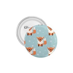 Cute Fox Pattern 1 75  Buttons