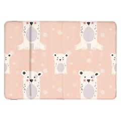 Cute Polar Bear Pattern Samsung Galaxy Tab 8 9  P7300 Flip Case