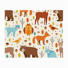 Woodland Friends Pattern Small Glasses Cloth (2 Side)