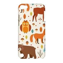 Woodland Friends Pattern Apple Ipod Touch 5 Hardshell Case