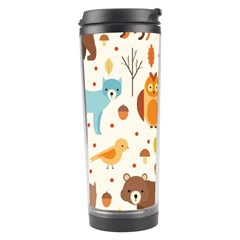 Woodland Friends Pattern Travel Tumbler