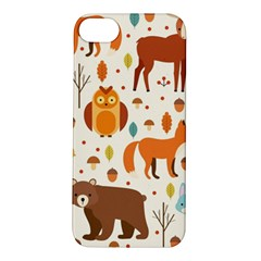 Woodland Friends Pattern Apple Iphone 5s/ Se Hardshell Case