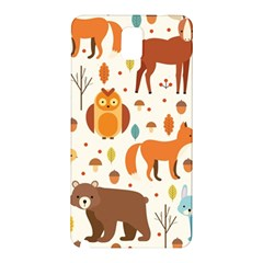 Woodland Friends Pattern Samsung Galaxy Note 3 N9005 Hardshell Back Case