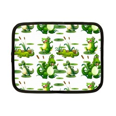 Crocodiles In The Pond Netbook Case (small)