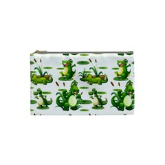 Crocodiles In The Pond Cosmetic Bag (small)