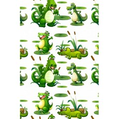Crocodiles In The Pond 5 5  X 8 5  Notebooks