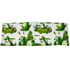 Crocodiles In The Pond Body Pillow Case Dakimakura (two Sides)