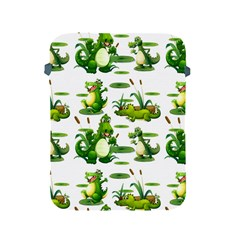 Crocodiles In The Pond Apple Ipad 2/3/4 Protective Soft Cases