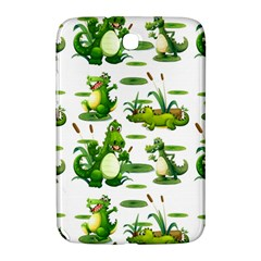Crocodiles In The Pond Samsung Galaxy Note 8 0 N5100 Hardshell Case