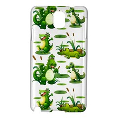 Crocodiles In The Pond Samsung Galaxy Note 3 N9005 Hardshell Case