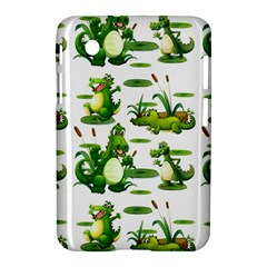 Crocodiles In The Pond Samsung Galaxy Tab 2 (7 ) P3100 Hardshell Case