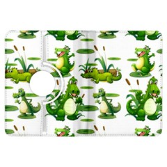 Crocodiles In The Pond Kindle Fire Hdx Flip 360 Case