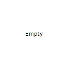 Golden Candycane Dark Heart Magnet