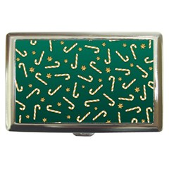Golden Candycane Green Cigarette Money Cases