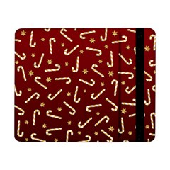 Golden Candycane Red Samsung Galaxy Tab Pro 8 4  Flip Case