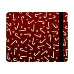 Golden Candycane Red Samsung Galaxy Tab Pro 8.4  Flip Case Front