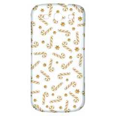 Golden Candycane Light Samsung Galaxy S3 S Iii Classic Hardshell Back Case