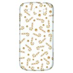Golden Candycane Light Samsung Galaxy S3 S III Classic Hardshell Back Case Front