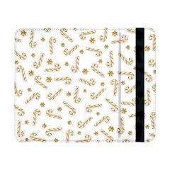 Golden Candycane Light Samsung Galaxy Tab Pro 8 4  Flip Case