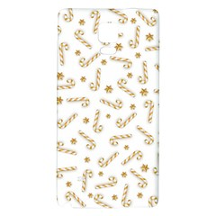 Golden Candycane Light Galaxy Note 4 Back Case