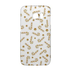 Golden Candycane Light Galaxy S6 Edge